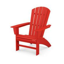 View Product - Nautical Curveback Adirondack Chair in Sunset Red
