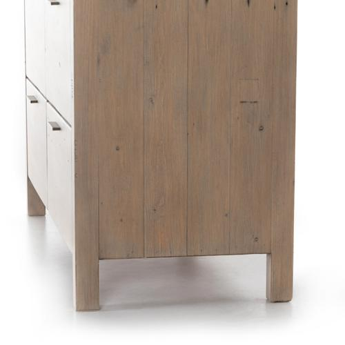 Gyro 8 Drawer Dresser-scrubbed Teak