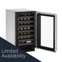 "3018wc 18"" Wine Refrigerator With Stainless Frame Finish and Field Reversible Door Swing (115 V/60 Hz Volts /60 Hz Hz)"