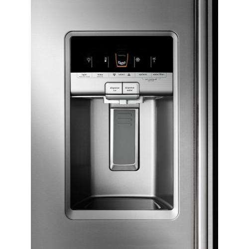 Maytag - 36- Inch Wide Counter Depth Side-by-Side Refrigerator- 21 Cu. Ft.