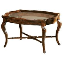 See Details - 8-7200 Rue de Bac Oval Coffee Table