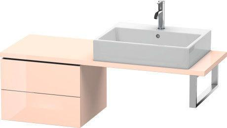 Low Cabinet For Console Compact, Apricot Pearl High Gloss (lacquer)