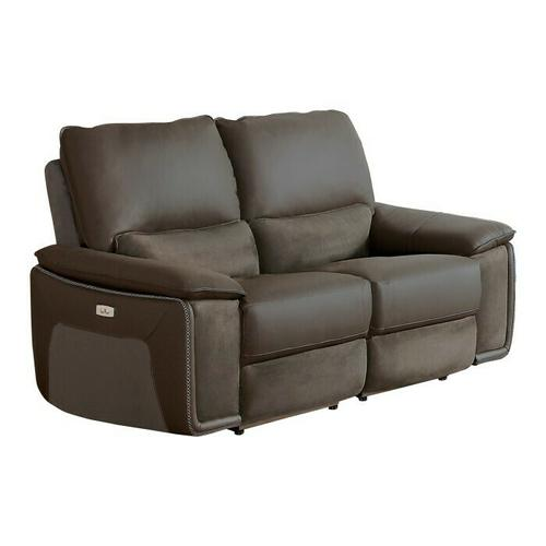Homelegance - Power Double Reclining Love Seat