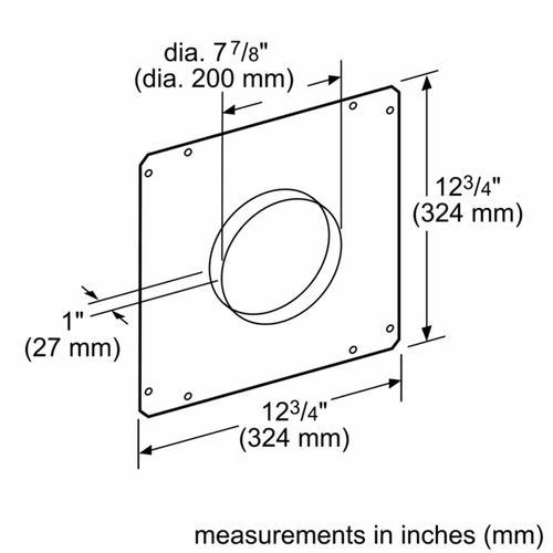 Ventilation Accessory HDDFTRAN8