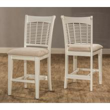View Product - Bayberry Non-swivel Counter Stool - White