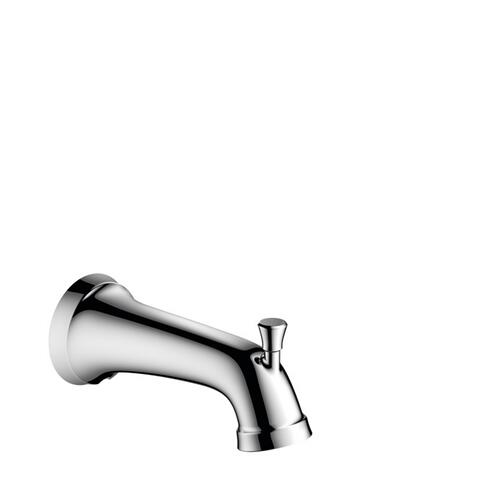 Chrome Tub Spout with Diverter