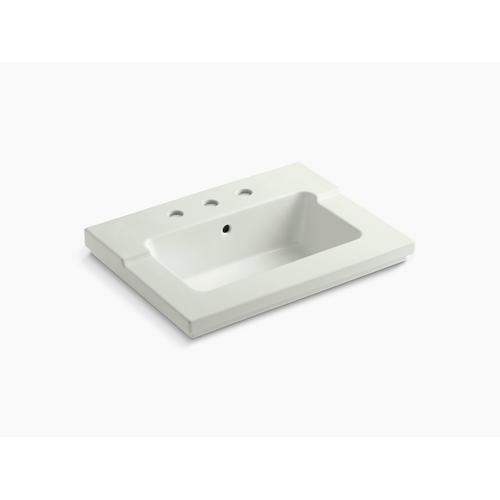 "Dune Vanity-top Bathroom Sink With 8"" Widespread Faucet Holes"