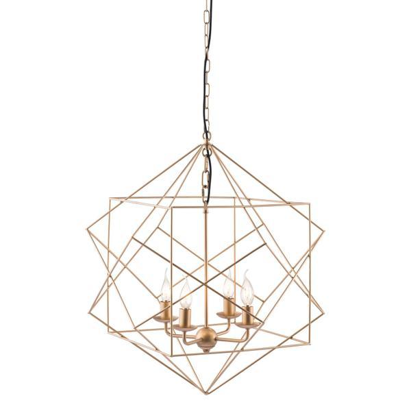 See Details - Penta Ceiling Lamp Gold