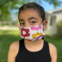 Reusable Kids Face Mask in Calliope Jellybean