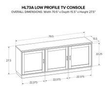 Howard Miller Custom Wide TV Consoles HL73A