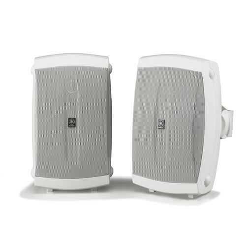 Yamaha - NS-AW150 White Outdoor 2-way Speakers
