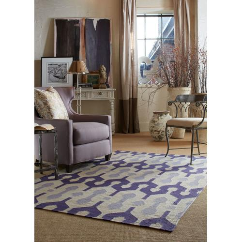 L'Alhambra Mulberry Lilac Flat Woven Rugs