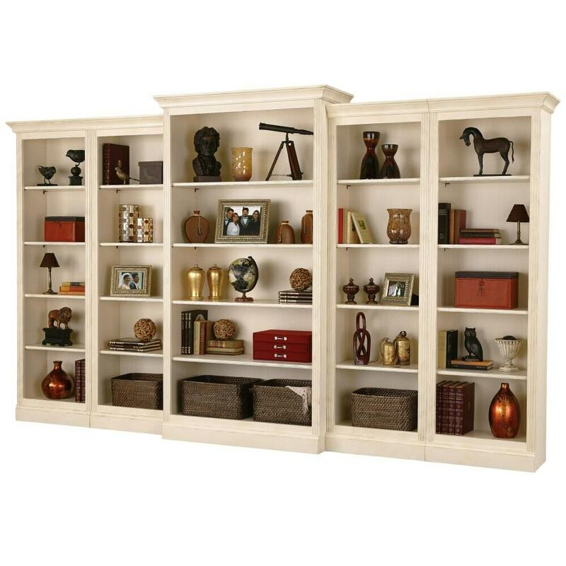See Details - Howard Miller Oxford Bunching Bookcase 920011
