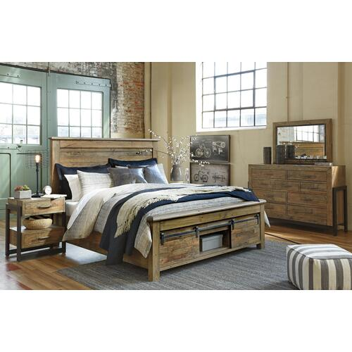 Sommerford - Brown 3 Piece Bed (King)