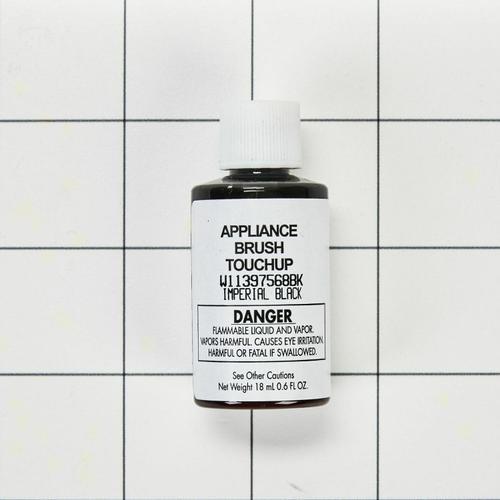 KitchenAid - Appliance Touchup Paint Bottle, Imperial Black