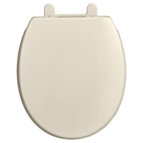 Transitional Round Front Luxury Toilet Seat  American Standard - Linen