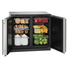 """See Details - 3036rr 36"""" Refrigerator With Stainless Solid Finish (115 V/60 Hz Volts /60 Hz Hz)"""