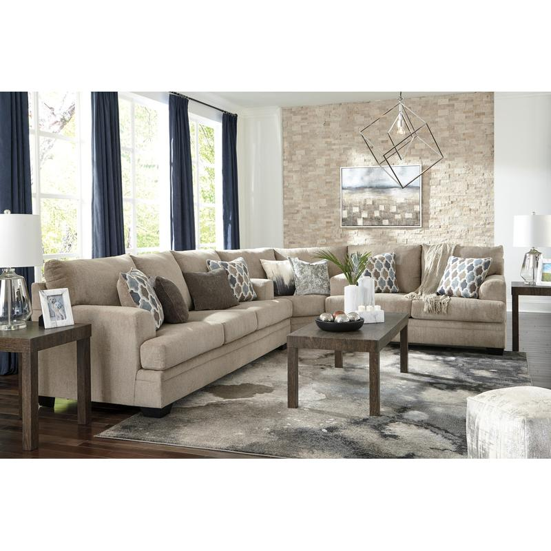 View Product - Dorsten Sisal 3 Piece Sectional