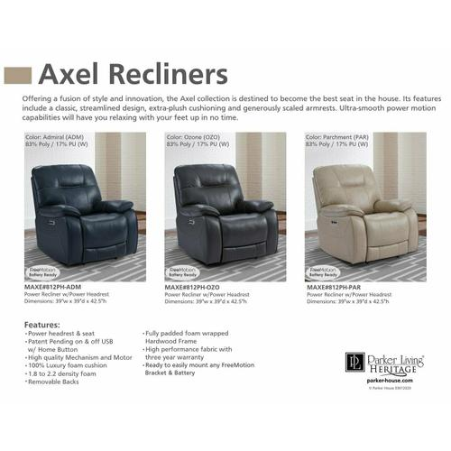 AXEL - ADMIRAL Power Recliner