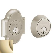 Lifetime Polished Brass Arched Deadbolt