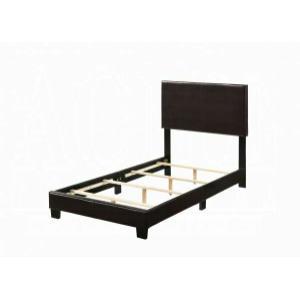 ACME Lien Twin Bed - 25756T - Espresso PU