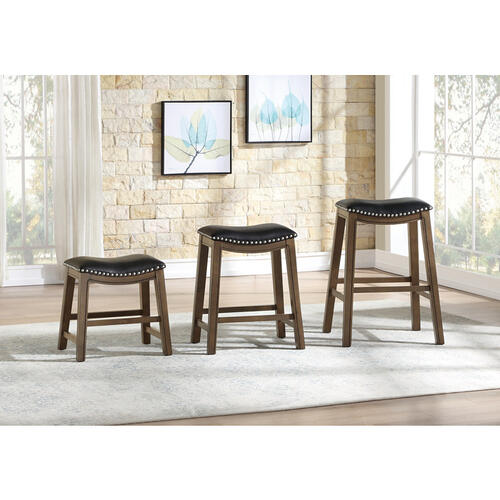 Gallery - 24 Counter Height Stool, Black
