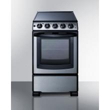 """See Details - 20"""" Wide Electric Smooth-top Range"""