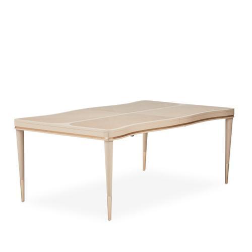 Amini - 4 Leg Rectangular Dining Table (includes: 2 X 24 Leaves)