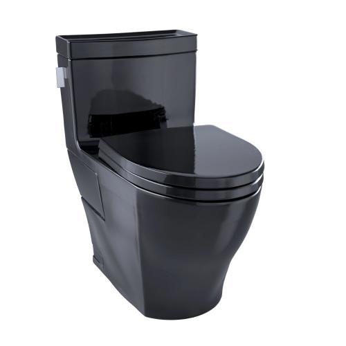 Legato One-Piece Toilet, 1.28GPF, Elongated Bowl - Washlet®+ Connection - Ebony