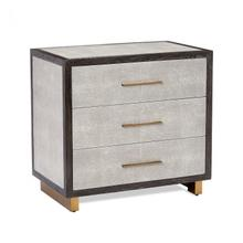 See Details - Maia Bedside Chest - Grey
