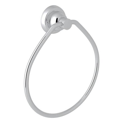 Polished Chrome Perrin & Rowe Holborn Wall Mount Towel Ring