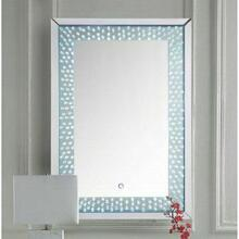 ACME Nysa Wall D'cor (LED) - 97591 - Mirrored & Faux Crystals