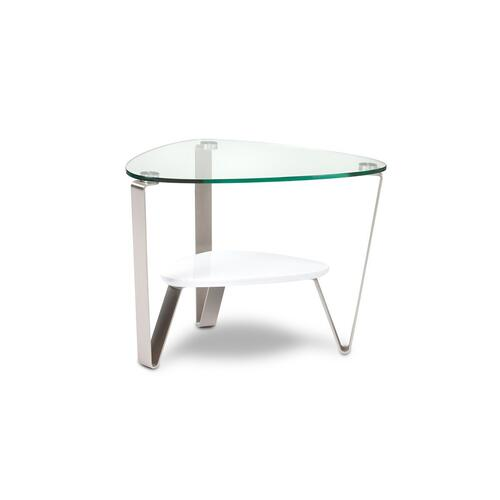 End Table 1347 in Gloss White