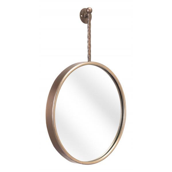 Moss Mirror Gold