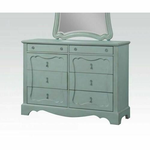 ACME Morre Dresser - 30810 - Antique Teal