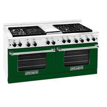 """View Product - Professional 60"""" Residential Range Green Color"""