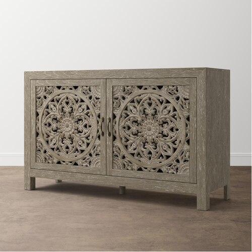 Bassett Furniture - Antiquities Fusion Two Door Cabinet