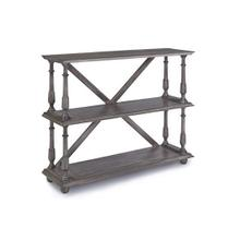 See Details - Bookcase - Graphite Gray Finish