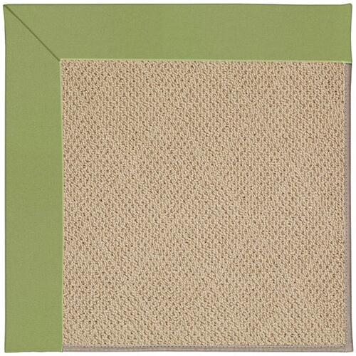 Capel Rugs - Creative Concepts-Cane Wicker Canvas Citron - Rectangle - 10' x 14'