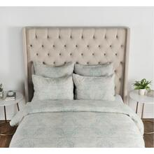 Luri Chambray Linen Blue Surf King Duvet
