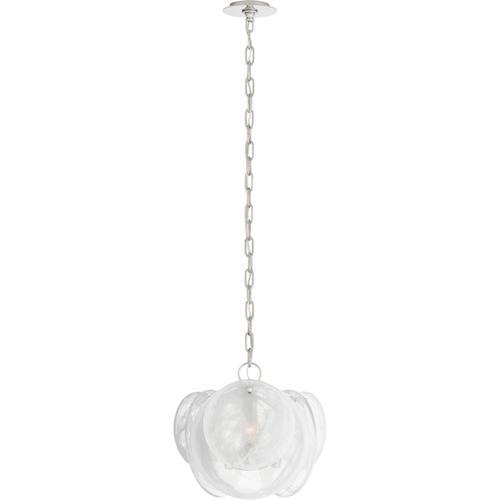 Visual Comfort - AERIN Loire 3 Light 16 inch Polished Nickel Chandelier Ceiling Light, Petite