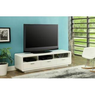 """ACME Randell TV Stand - 91300 - White for Flat Screens TVs up to 60"""""""