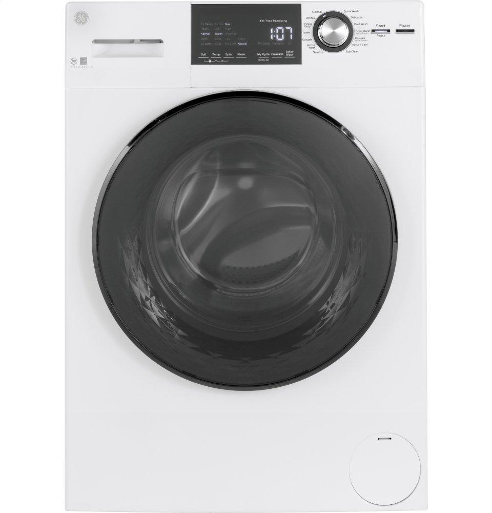 """GE24"""" 2.4 Cu. Ft. Energy Star® Front Load Washer With Steam"""