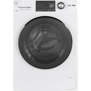 "GE® 24"" 2.4 Cu. Ft. ENERGY STAR® Front Load Washer with Steam Product Image"