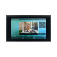 View Product - 7-inch In-wall Touch Screen, Black + Diamond-polished Aluminum accents