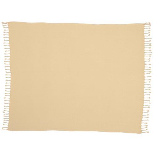 "Throw Ss905 Beige 50"" X 60"" Throw Blanket"