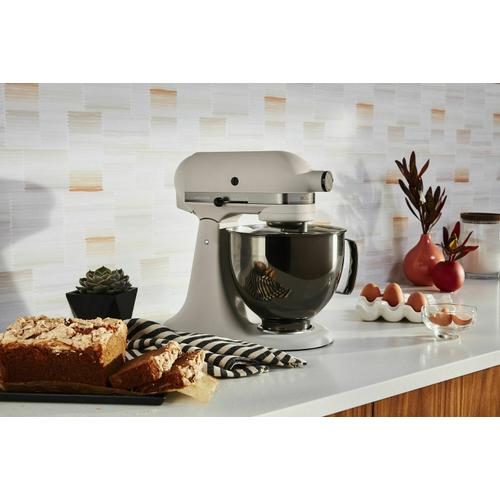 KitchenAid - Artisan® Series 5 Quart Limited Edition Stand Mixer with Stainless Steel Bowl - Light and Shadow