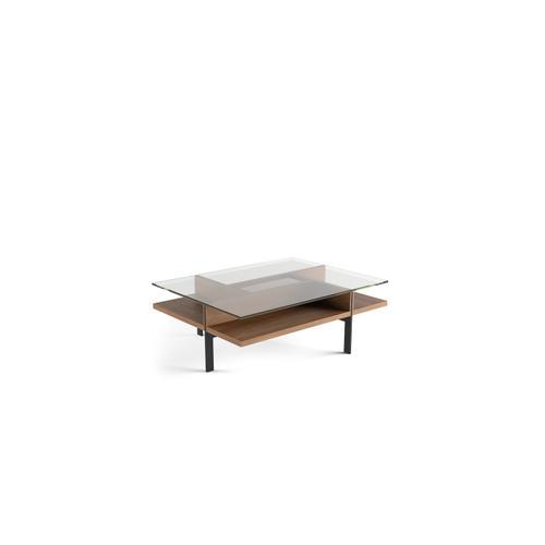 BDI Furniture - Terrace 1152 Rectangular Coffee Table in Natural Walnut