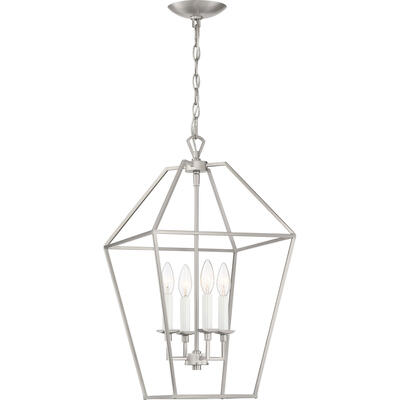 Aviary Pendant in Brushed Nickel