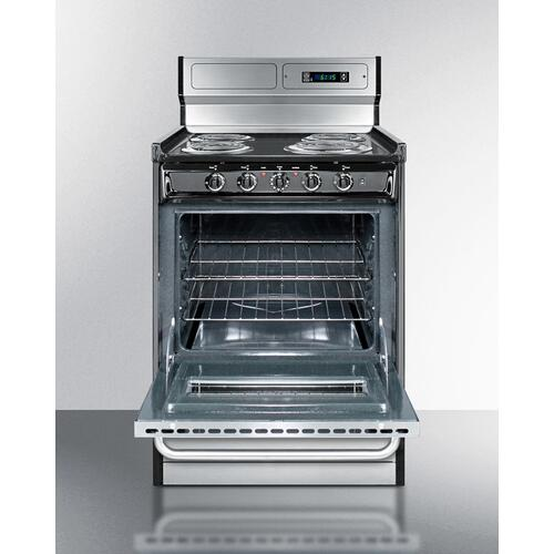 "24"" Wide Electric Coil Range"